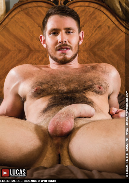 Spencer Whitman Handsome Hairy Hung Uncut Gay Porn Star Gay Porn 110400 gayporn star