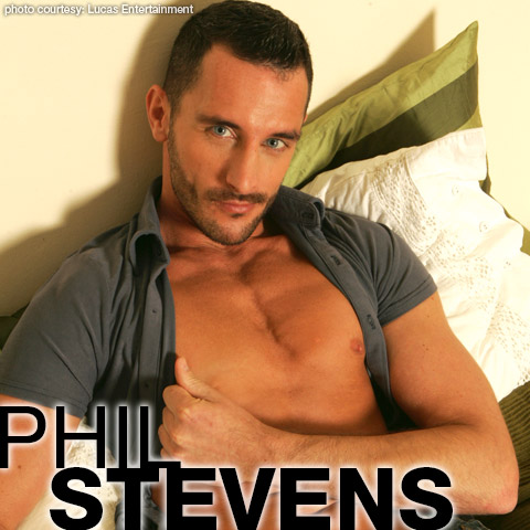 Phil Stevens Handsome European Gay Porn Star gayporn star Ross Stevenson Ross Stevens