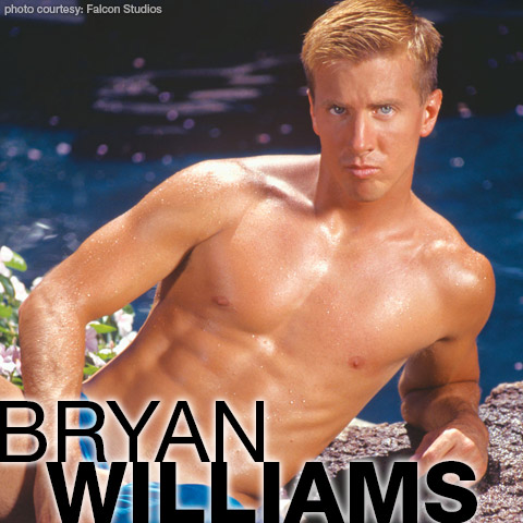 Bryan Williams Blond American College Jock Gay Porn Star Gay Porn 111402 gayporn star