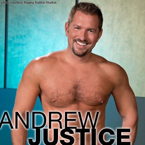 Andrew Justice Handsome Hung Gay Porn Star