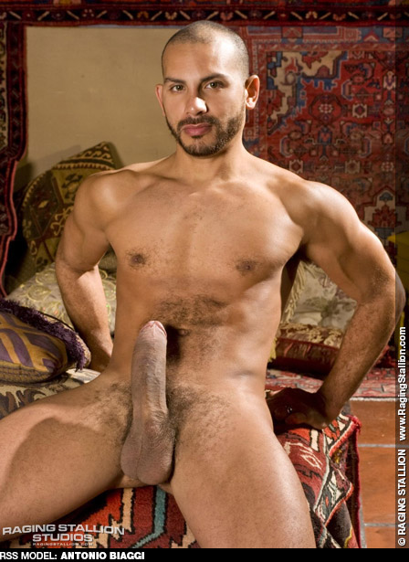 naked Antonio biaggi