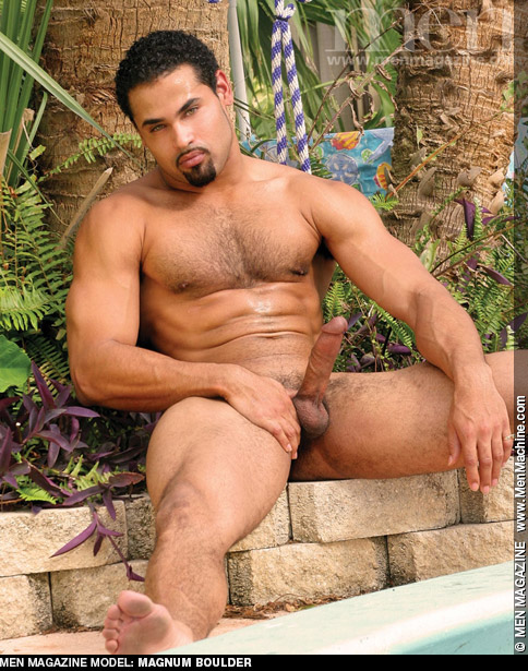 Magnum Boulder Hunk Muscle Latino & Advocate Men Model Gay Porn 112640 gayporn star