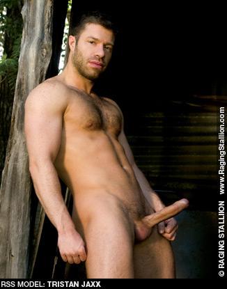 Tristan Jaxx Uncut Horse Hung American Gay Porn Star