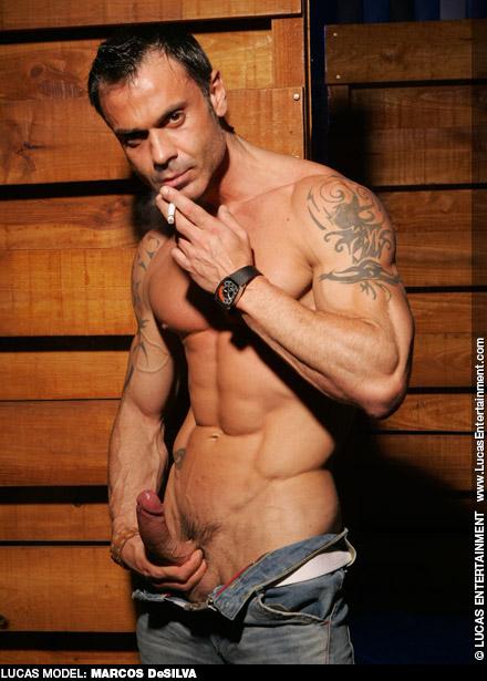 Marcos DeSilva Muscular Spanish Gay Porn Star gayporn star