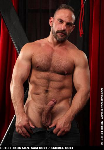 Samuel Colt Sexy Daddy American Gay Porn Star