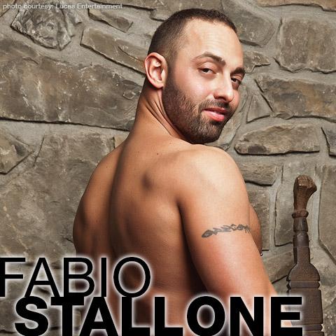 Gay Porn Star gayporn star Fabio Stallone Uncut and Hung Italian Gay Porn star Luca Bondi
