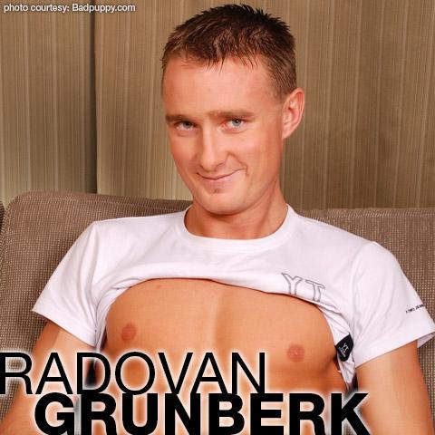 Radovan Grunberk Radovan Malacek Handsome Blond Jock Czech Gay Porn Star Gay Porn 120900 gayporn star