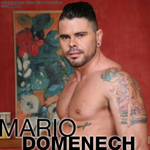 Mario Domenech Kristen Bjorn Spanish Gay Porn Performer Gay Porn 121418 gayporn star