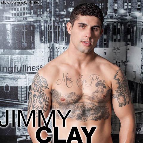Jimmy Clay American Gay Porn Star aka Jimmy Coxxx