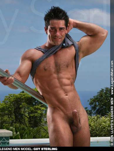Guy Sterling American Gay Porn Star 121761 gayporn star Ron Lloyd LegendMen.com Body Image Productions