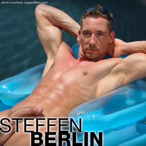 Steffen Berlin Ron Lloyd's Legend Handsome Hung German Blond Solo Performer Gay Porn 121762 gayporn star Body Image Productions Steffen Herrmann German Dicks Of Mass Destruction