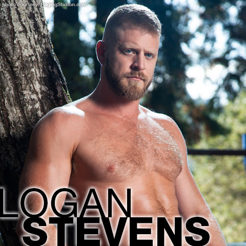 Logan Stevens Blond Uncut Gay Porn Star