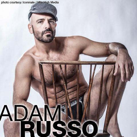 Adam Russo Super DILF Hung Daddy American Gay Porn Star Gay Porn 122478 gayporn star