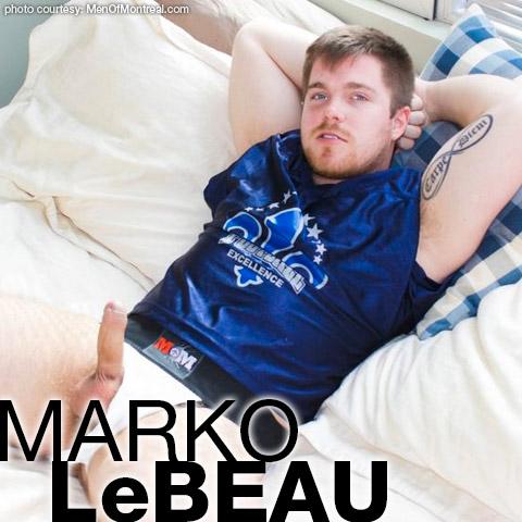 Marko Lebeau Canadian Muscle Hunk & Gay Porn Star Gay Porn 122752 gayporn star