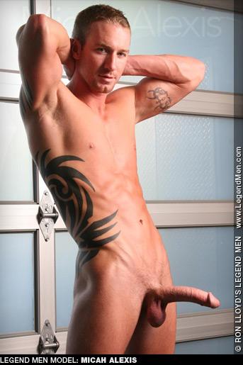 Micah Alexis Ron Lloyd LegendMen Model Performer Gay Porn 122829 gayporn star