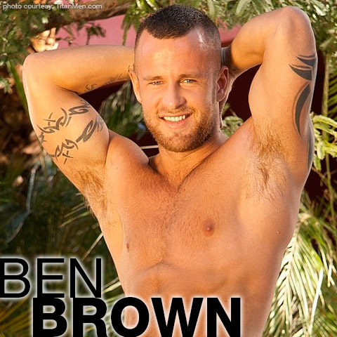 Gay Porn Star gayporn star Ben Brown Sexy British Gay Porn Star Power Bottom