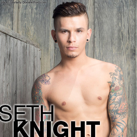Seth Knight Tattooed Twink American Gay Porn Star 123953