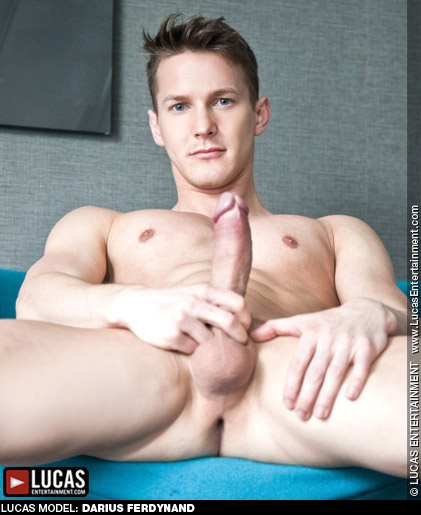Darius Ferdynand Hung Handsome British Gay Porn Star