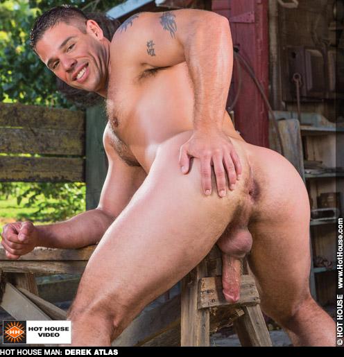 Derek Atlas American Muscle Gay Porn Star