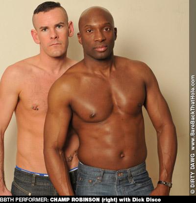 Champ Robinson Black Hung Bareback American Gay Porn Star 125478 gayporn star