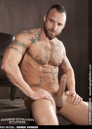 Derek Parker Tattooed Beefcake Daddy - American Gay Porn Star 125753 gayporn star