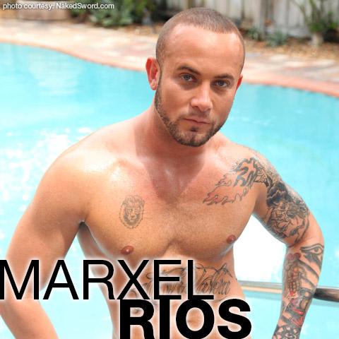 Marxel Rios Tattoo American Gay Porn Star 125825 gayporn star
