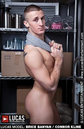Gay Porn Star gayporn star Connor Kline Brice Banyan Blond Muscle American Jock Gay Porn Star