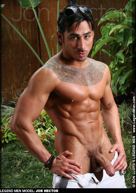 Jon Hector Tattooed, Sexy and Rock Hard Legend Men PerformerGay Porn 126267 gayporn star
