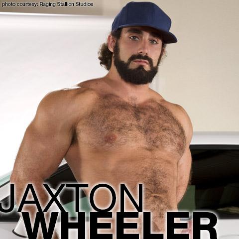 Jaxton Wheeler American Muscle Hunk Gay Porn Star