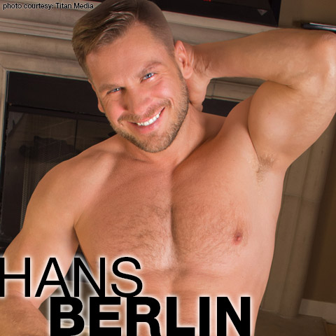 Hans Berlin Hunky Uncut German Born Gay Porn Star