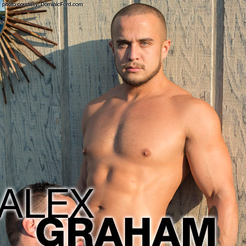 Alex Graham Muscle Hunk American Gay Porn Star Joel Corbin Fisher