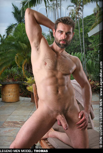 Thomas Uncut Hung Furry Ron Lloyd Legend Model & Solo Performer Gay Porn 127634 gayporn star