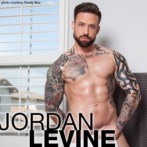 Jordan Levine Randy Blue Live Handsome Muscle Gay Porn Star