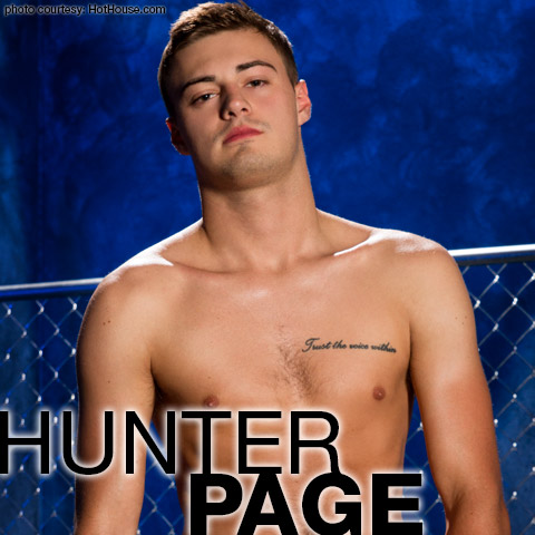 page gay porn star Hunter