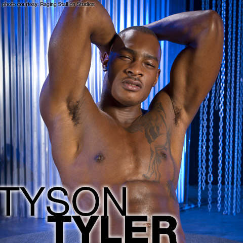 Tyson Tyler Muscular Black European Gay Porn Star Leeroy Tyson