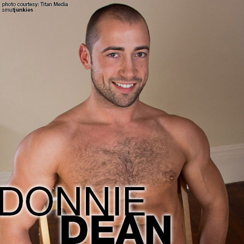 Donnie Dean Hairy Hunk Canadian Gay Porn Star