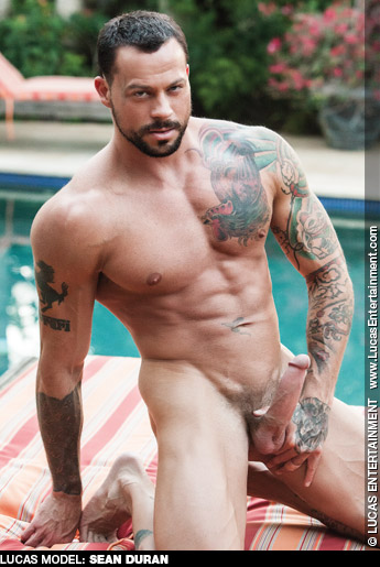 Sean Duran Tattooed American Gay Porn Star