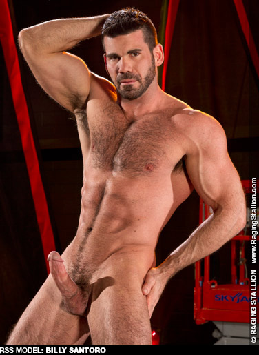 Billy Santoro Hunky American Gay Porn SuperStar Gay Porn 128733 gayporn star