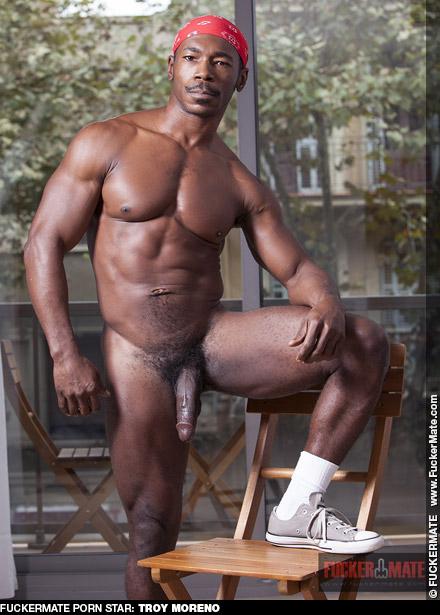 Troy Moreno Hung Handsome Black American Gay Porn Star Gay Porn 128948 gayporn star