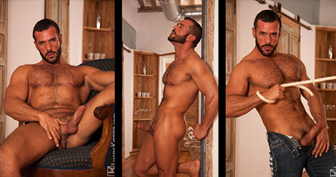 Denis Vega Handsome Hairy Spanish Gay Porn Star 129667 gayporn star