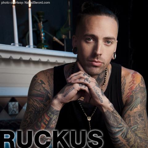 Ruckus Scrappy Tattooed American Gay Porn Star Gay Porn 129830 gayporn star