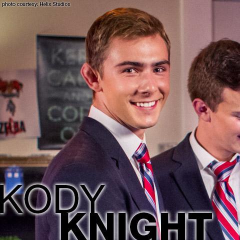 Kody Knight Helix Studios Sexy American Gay Twink Porn Star