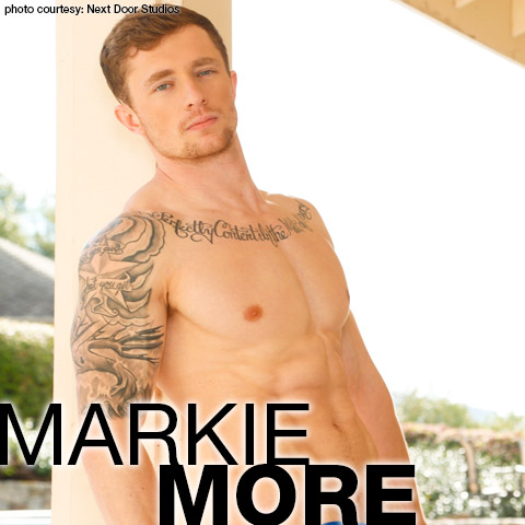 Markie More Smooth & Ripped Next Door Studios Gay Porn Star