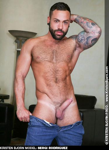 Sergi Rodriguez Handsome Spanish Gay Porn Power Bottom 130058 gayporn star
