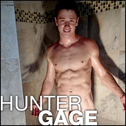 Hunter Gage American Exhibitionist Gay Porn GayHoopla Amateur Gay Porn 130111 gayporn star
