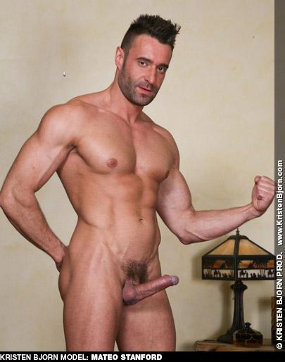 Mateo Stanford Kristen Bjorn Handsome Muscular Portuguese Gay Porn Star 130153 gayporn star
