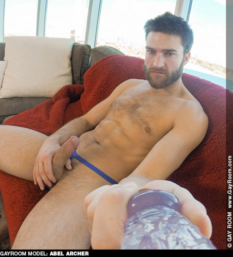 Abel Archer Handsome Bear Cub American Gay Porn Star 130624 gayporn star