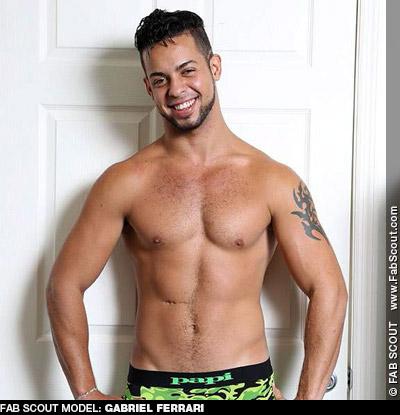Gabriel Ferrari Handsome Latin Solo performer Gay Porn Star 130684 gayporn star