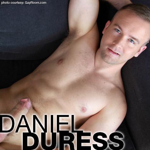 Daniel Duress Blond Hung Uncut American Gay Porn Star Gay Porn 130907 gayporn star