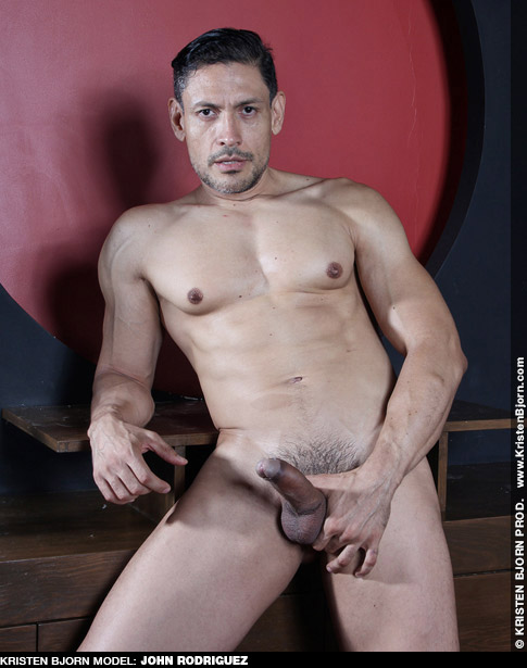 John Rodriguez Handsome Spanish Kristen Bjorn Gay Porn Star Gay Porn 131002 gayporn star